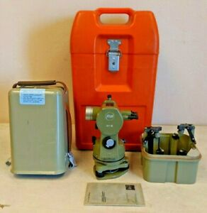 Kern Swiss K1 s Theodolite Surveying Scope Tool W Travel Case