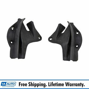 Door End Side Panel Corner Filler Weather Strip Seal Pair For Dodge Plymouth New