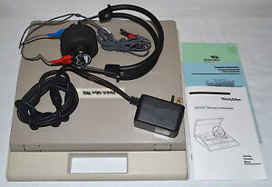 Welch Allyn Am 232 Manual Audiometer used Power on Tested
