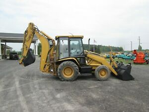 Caterpillar 426c It Used Loader Backhoe Diesel 4x4 Cab Extend a hoe