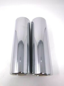 Jones Jpt212 Pair 2 5 Pencil Exhaust Tips 2 1 2 Inlet 2 3 4 Outlet 9 Long