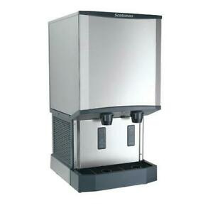 Scotsman Hid540aw 1 500 Lb Meridian Wall Mount Ice Maker With Dispenser