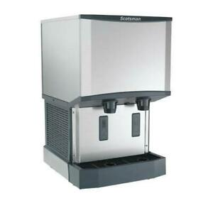 Scotsman Hid525aw 1 500 Lb Meridian Wall Mount Ice Maker With Dispenser