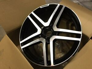 18 S65 Amg Style Black Wheels Rims Fits Mercedes Benz E250 E350 E400 E550