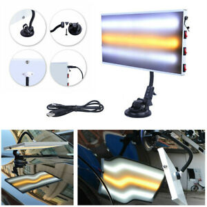 Led Dent Detection Light Car Body Paintless Repair Hail Removal Dent Test Lamp