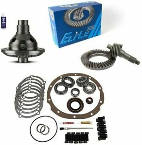 Ford 8 3 55 Ring And Pinion 28 Spline Traclok Posi Master Kit Elite Gear Pkg