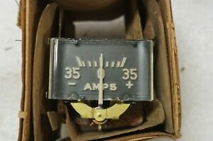 1946 48 Plymouth Special Deluxe P15 Amp Gauge Nos 1149323 rc1