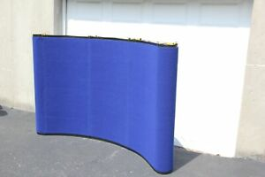 6 Skyline Mirage Pop up Tabletop Display Blue