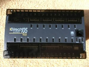 Koyo F1 130dr d Direct Logic 105 Plc Module 10dc In 8 Relay 10 30 Vdc Made In Us