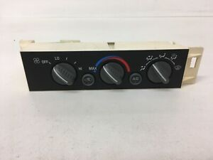 Heater Controls 1996 2000 Chevy Gmc Truck Heater A c Climate Suburban 1500 2500