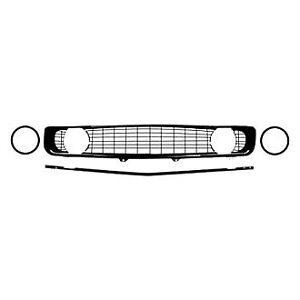 For Chevy Camaro 1969 R R5028g Restorer S Choice Grille Kit