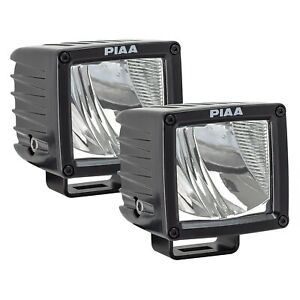 Piaa Rf series Sae Rotating Bracket Mount 3 2x17w Cube Driving Beam Led Lights