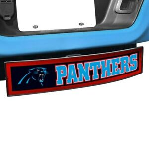 Sport Light Up Hitch Cover W Carolina Panthers Nfl Logo For 2 Receivers