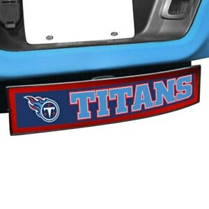 Fanmats Sport Light Up Hitch Cover W Tennessee Titans Nfl Logo For 2 Receivers