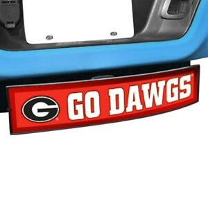 Hitch Cover Light Up College Hitch Cover W University Of Georgia W Go Dawgs Logo