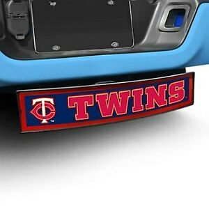 Fanmats Sport Light Up Hitch Cover W Minnesota Twins Mlb Logo For 2 Receivers