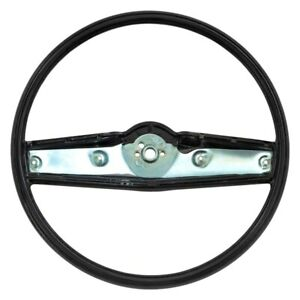 For Chevy Camaro 69 Oer 3939731 2 spoke Standard Steering Wheel W Black Grip