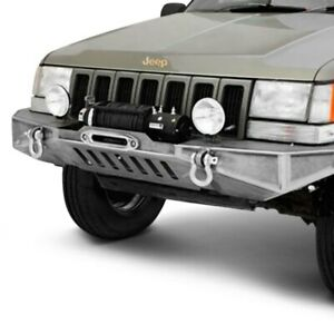 For Jeep Grand Cherokee 93 98 Diy Full Width Raw Front Winch Modular Bumper