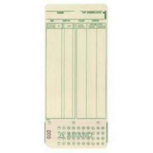Amano 099000 Mjr 7000 0 99 Bx 1000 Employee Cards