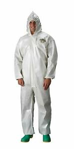 12 New Lakeland Coveralls C44428 Chemical Protection Saranex Coated 3x Chemmax