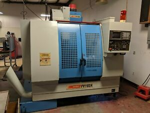 1999 Supermax Fv102a Cnc Vertical Machining Center fanuc 18 m With Tooling