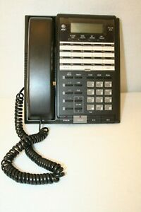At t Lucent 854 4 line Intercom Business Speaker Phone Untested Tv Movie Prop