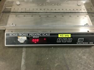 Scale tronix 4800 Pediatric Infant Baby Stainless Scale Kgs Only
