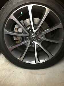 18 Inch Acura Tlx 2015 2017 Oem Factory Alloy Wheels Rims