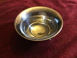 Antique Alvin Sterling Silver Footed Bowl Y14 52 6 Grams Not Weighted