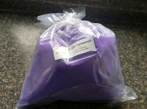 Powder Coating Powder Coat Paint Purple Transparent Inventory Clearout 4 Lb
