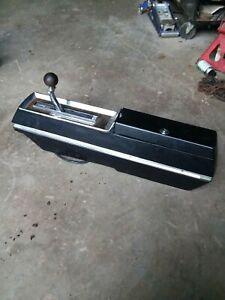 67 68 69 Oldsmobile Cutlass 442 Console W Shifter Olds Hurst W30 Ram Rod F85 455
