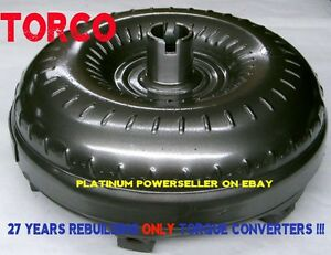 Th400 Turbo 400 Gm3 Torque Converter With Mounting Bolts