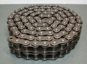 Dayton Roller Chain 2ydz1 10 Ansi 100 2 Riveted 1 1 4 Pitch Carbon Steel