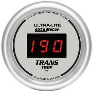 Auto Meter 2 1 16in Dg S Trans Temp Gauge