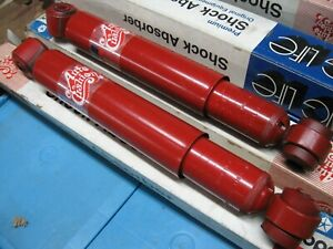 Nos Mopar 1965 70 Dodge Plymouth Chrysler B C Body Auto Cushion Rear Shocks