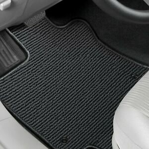 For Mitsubishi Sigma 89 90 Berber Auto Mat 1st Row Charcoal Carpeted Floor Mats