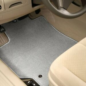 For Mitsubishi Sigma 89 90 1st Row Light Gray Carpeted Floor Mats