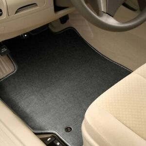 For Jensen Healey 74 76 1st Row Charcoal Carpeted Floor Mats