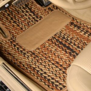 For Jensen Healey 74 76 Coco Auto Mat 1st Row Calico Carpeted Floor Mats