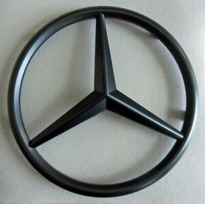 New Black Mercedes Emblem Star Front Grille Sprinter 2500 3500 10 15 Free Ship