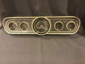 1965 1966 Vintage Ford Mustang Classic Instruments Gauge Cluster
