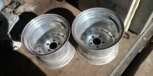 2 Vintage Centerline Wheels Pair Rims 15x5 5 3 3 8bs 5 Bp Gm 5x5