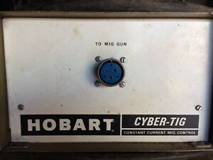 Mig Adapter For Hobart Cyber Tig Ct300acdc Welder 300 Amp 120 Series