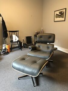Herman Miller Eames Lounge Chair Tall Model