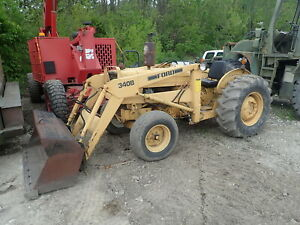 Ford 340b Utility Tractor Loader Runs Great 340 3 Pt Pto 6x4 Industrial