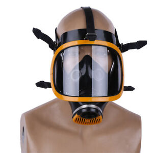 Respirator Gas Mask Self suction Anti Dust Spray Paint Industrial Chemical Gas
