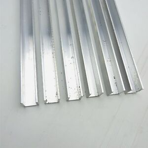 125 Thick Aluminum Channel 1 Wide 1 Leg 95 Long Qty 6 Sku 168412