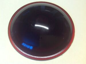 Early Tail Lamp Glass Lens Vintage Auto Light Truck 2 15 16 Red Stop Nos
