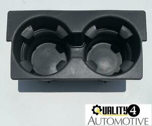 2003 2006 Cadillac Escalade Center Console Cup Holder Cupholder Black Oem