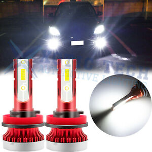 For Honda Accord 2006 2015 High Power 6000k White Led Driving Fog Light Bulb 2pc